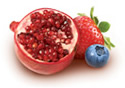 Enjoy DanActive yogurt flavoured with pomegranate-berry.