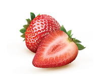 Enjoy DanActive yogurt flavoured with strawberry.