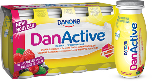 DanActive comes in convenient multipacks.