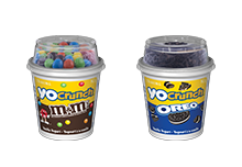 YoCrunch, the first ever yogurt that combines some of your favourite snacks with a deliciously smooth creamy yogurt.